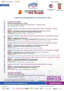 Programma del Corso Liber@ di Essere - Perugia