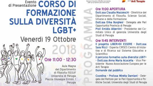 Presentazione del Corso Liber@ di Essere - Perugia