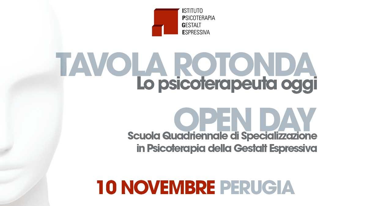 Open Day Perugia Psicoterapia della Gestalt